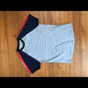 TOPMAN raglan t-shirt